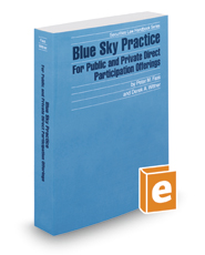 Blue Sky Practice For Public and Private Direct Participation Offerings, 2017-2018 ed. (Securities Law Handbook Series)