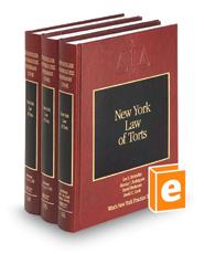 New York Law of Torts (Vols. 14-16, New York Practice Series)