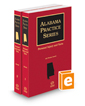 Personal Injury and Torts, 2017 ed. (Alabama Practice Series)