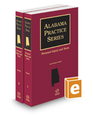 Personal Injury and Torts, 2020 ed. (Alabama Practice Series)