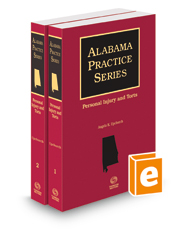 Personal Injury and Torts, 2021 ed. (Alabama Practice Series)