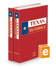 Texas Trial Handbook, 3d, 2021 ed.