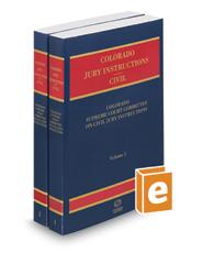 Colorado Jury Instructions, 2017 ed. (Civil)