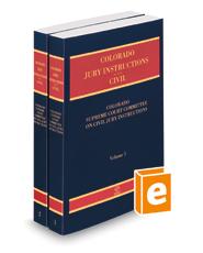 Colorado Jury Instructions, 2021 ed. (Civil)