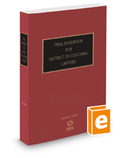 Trial Handbook for District of Columbia Lawyers, 2018 ed.