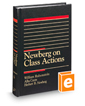 Newberg on Class Actions, 5th (Trial Practice Series)