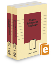 Federal Information Disclosure, 2019-1 ed.