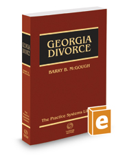 Georgia Divorce, 2017 ed.