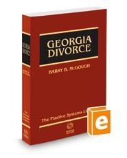 Georgia Divorce, 2018 ed.