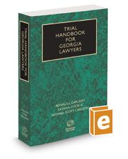 Trial Handbook for Georgia Lawyers, 2016-2017 ed.