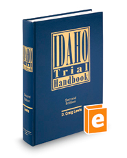 Idaho Trial Handbook, 2d