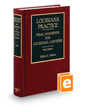 Trial Handbook for Louisiana Lawyers, 3d (Louisiana Practice Series)