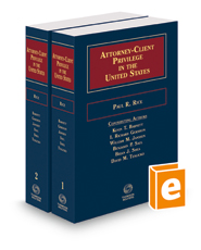 Attorney-Client Privilege in the United States, 2015-2016 ed.