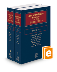 Attorney-Client Privilege in the United States, 2017-2018 ed.