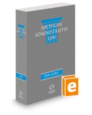 Michigan Administrative Law, 2018 ed.