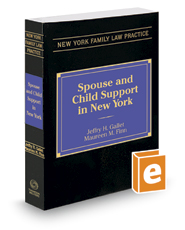 Spouse and Child Support in New York, 2019 ed.