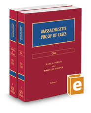 Massachusetts Proof of Cases, 2016-2017 ed.