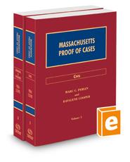 Massachusetts Proof of Cases, 2020-2021 ed.