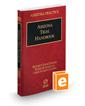 Arizona Trial Handbook, 2016-2017 ed. (Vol. 8, Arizona Practice Series)
