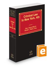 Criminal Law in New York, 2015-2016 ed.