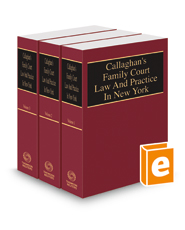 Callaghan's Family Court Law and Practice in New York, 2018 ed.