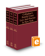 Callaghan's Family Court Law and Practice in New York, 2021 ed.