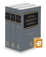 New York Matrimonial Law and Practice, 2020-2021 ed.