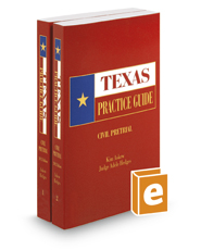 Civil Pretrial, 2017-2018 ed. (Texas Practice Guide)