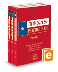 Probate, 2020-2021 ed. (Texas Practice Guide)