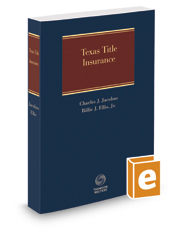 Texas Title Insurance, 2d, 2016-2017 ed.
