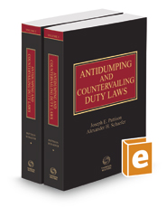 Antidumping & Countervailing Duty Laws, 2020 ed.