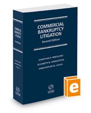 Commercial Bankruptcy Litigation, 2d, 2016 ed.
