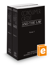 Consumer Credit and the Law, 2015-2016 ed.