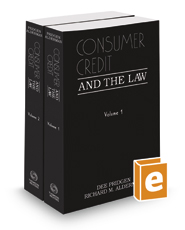 Consumer Credit and the Law, 2016-2017 ed.
