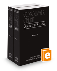 Consumer Credit and the Law, 2017-2018 ed.