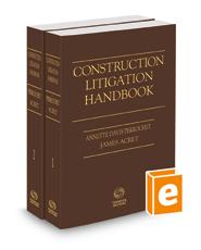 Construction Litigation Handbook, 2021 ed.