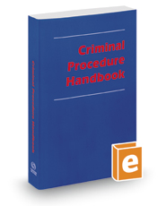 Criminal Procedure Handbook, 2016 ed.