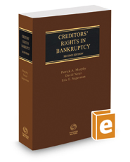 Creditors' Rights in Bankruptcy, 2d, 2018-2019 ed.
