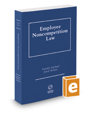 Employee Noncompetition Law, 2016-2017 ed.