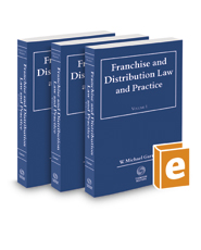 Franchise and  Distribution Law and Practice, 2016-2017 ed.
