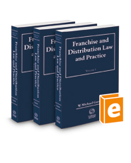 Franchise and  Distribution Law and Practice, 2020-2021 ed.