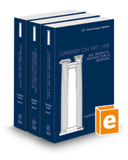 Darraby on Art Law, 2021 ed.