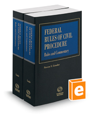 Federal Rules of Civil Procedure, Rules and Commentary, 2016 ed.