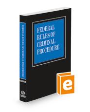 Federal Rules of Criminal Procedure, 2021 ed.