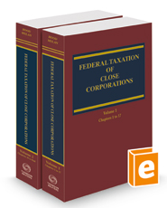 Federal Taxation of Close Corporations, 2021 ed.