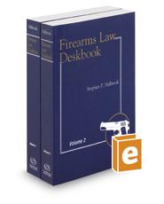 Firearms Law Deskbook, 2017-2018 ed.