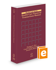 Health Care Financial Transactions Manual, 2021-1 ed.