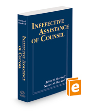 Ineffective Assistance of Counsel, 2021 ed.