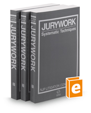 Jurywork: Systematic Techniques, 2d, 2015-2016 ed.