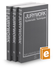 Jurywork: Systematic Techniques, 2d, 2018-2019 ed.